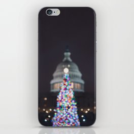 A Capitol Christmas iPhone Skin