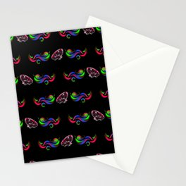 Glow Frog Shimon - Pattern Stationery Cards