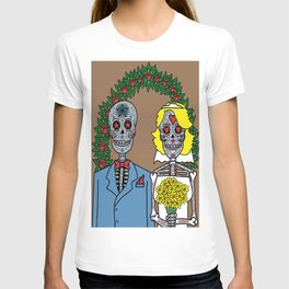 Day of the Dead Bride & Groom Portrait T-shirt