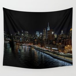 Manhattan Skyline East Wall Tapestry