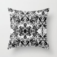 Ikat #5E Throw Pillow