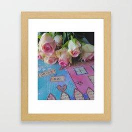 House Of Roses Framed Art Print