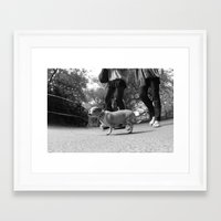 central park Framed Art Prints featuring Central Park by Misha Dontsov