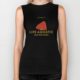 The Life Aquatic with Steve Zissou Beanie Poster Biker Tank