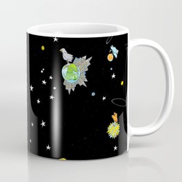 """Floating In Space (from the book, """"You, the Magician"""") Coffee Mug"""