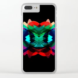 LT9-Alien Clear iPhone Case