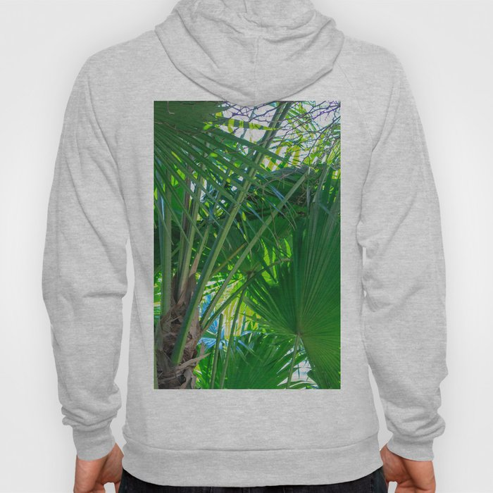 Sunny Tropical Palms 1 Hoody