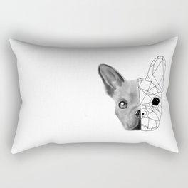 Geometric little dog Rectangular Pillow