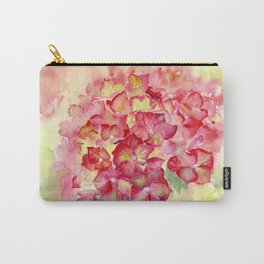 Ruby Tuesday Hydrangea Carry-All Pouch