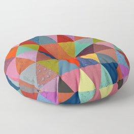 Abstract #287 Floor Pillow