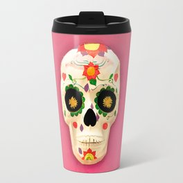 Mexican skull art II Travel Mug