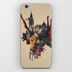 Backhand iPhone & iPod Skin