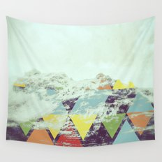 Triangle Mountain Wall Tapestry