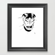 Hulk - You Wouldn't Like Me When I'm Angry - 2012 Framed Art Print