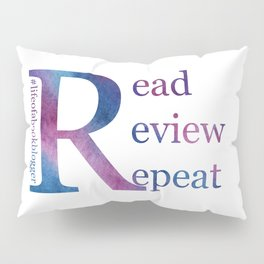 Read, Review, Repeat Pillow Sham