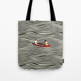 Illusionary Boat Ride Tote Bag