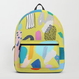 """Save The Earth"" Series Modern Contemporary Art Backpack"