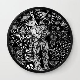 Rock Soul Inquisitive  Wall Clock