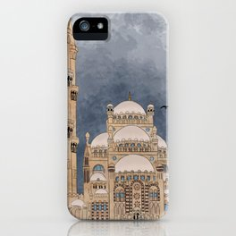 Al Sahaba Mosque iPhone Case