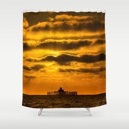 Herne Bay Pier Shower Curtain