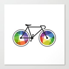 Geometric Bicycle Canvas Print
