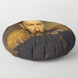 Ricky Gervais - replaceface Floor Pillow