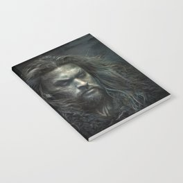 New Aquaman - Jason Momoa portrait Notebook