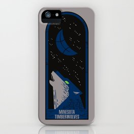 Timberwolves iPhone Case