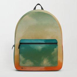 """""""Orange & Blue Heaven"""" Backpack"""