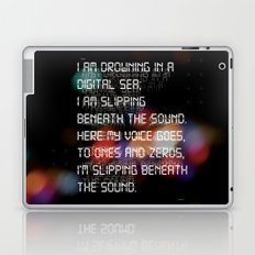 Drowning in the Digital Sea Laptop & iPad Skin