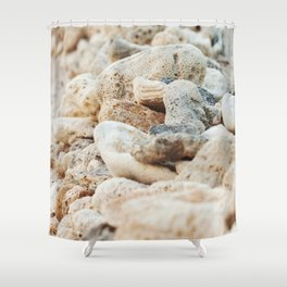 Coral Wall Shower Curtain