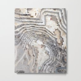 Marble cave Metal Print