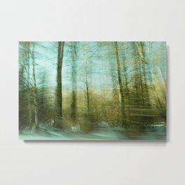 Moved By Trees ii Metal Print