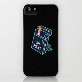 Modern Warriors - Last Cigarette iPhone Case