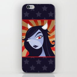 She Devil iPhone Skin