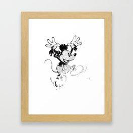 Hail to the Rat Framed Art Print