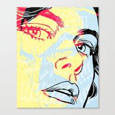 D. 01 Canvas Print
