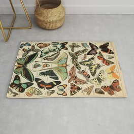 Butterfly Chart Rug