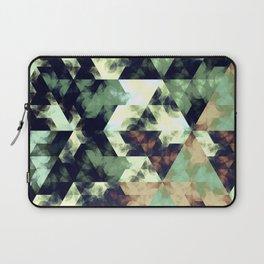 Green Hex Laptop Sleeve