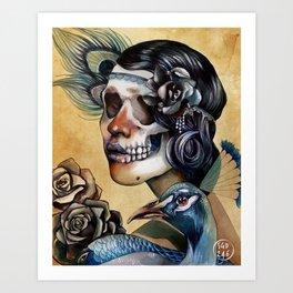 Queen of Indulgence  Art Print