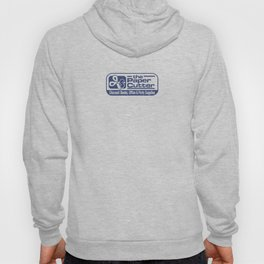 the Paper Cutter Blue Hoody