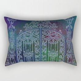 Mysterious gate Rectangular Pillow
