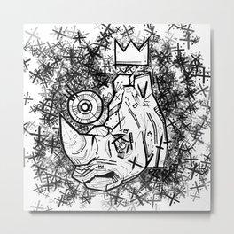 Rataxes King of the Grasslands Metal Print