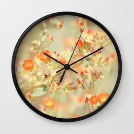 Desert Sunshine Wall Clock