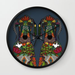 Great Dane love midnight Wall Clock