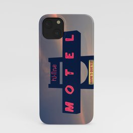 Hi Line Motel iPhone Case