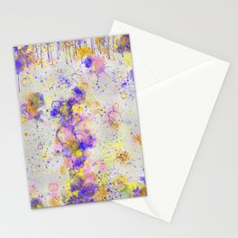 Old Paint Layers Stationery Cards