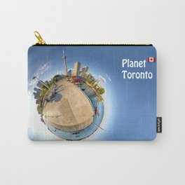 Planet Toronto Wall Paper Carry-All Pouch