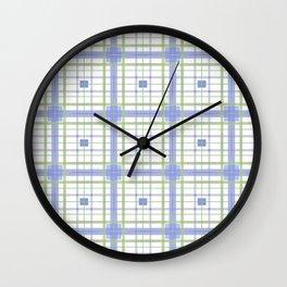 AFE Tartan Pattern3 Wall Clock