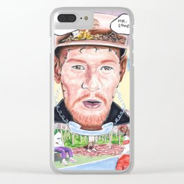 who dat boy Clear iPhone Case